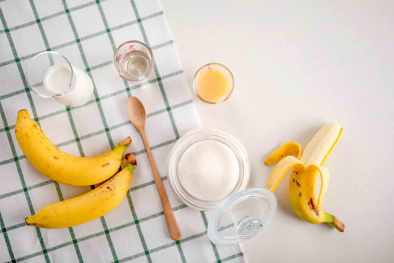 ผงนมกล้วยหอมพร้อมชง
